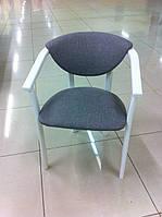 """Стул-кресло """"Алексис"""" цвет белый, ваниль"""