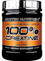 Креатин моногідрат scitec nutrition creatine 100% 300 гр
