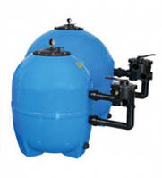 Фильтровальный бак NS-30 (стекловолокно),  30 м³/час, диаметр 950 мм,6- позиционный боковой клапан, загрузка 3