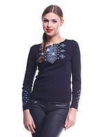Стильная женская вышиванка с длинным рукавом