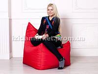 Кресло мешок Фокси - красного цвета