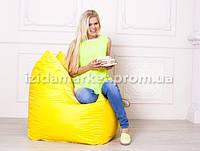Кресло мешок Фокси - желтого цвета