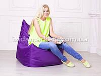 Кресло мешок Фокси - фиолетового цвета