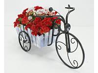 Подставки  кованые для цветов,велосипед 1 маленький Кантри
