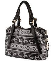 Женская сумка с принтом. 5 цветов.