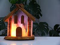 Соляная лампа Домик 5-6 кг светильник