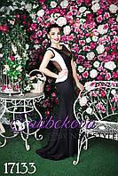 """Элегантное вечернее платье  """"Лампа"""" мод 607"""
