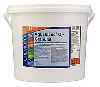 Средство для дезинфекции воды бассейна кислород гранулированный O2 Granulat Fresh Pool, 5 кг