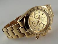 Мужские часы Rolex Daytona, механические с автозаводом, нержавейка, золотистые
