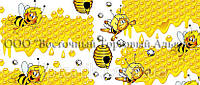 Декоративная бордюрная лента — Пчёлы и мёд - Н60 - 500 м