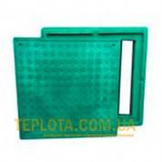 Люк полимерпесчанный 1,5 т квадратный зеленый