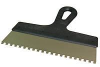 Шпатель зубчатый ПОЛЬША, 150мм, зубья 6х6  мм (62270001)