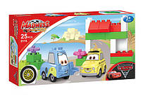Детский конструктор Meadness CARS 5115  Тачки, 25 дет