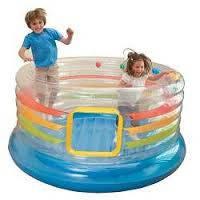 Детский игровой центр батут надувной с мячами INTEX48264