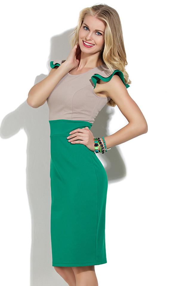 Платье Двухцветное С Доставкой