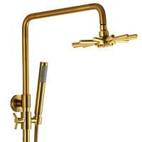 Душевая система с изливом 3-х режимная KAISER Sonat 34188 Bronze