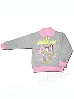 """Детский свитер (толстовка) для девочки """"Гитаристки"""""""