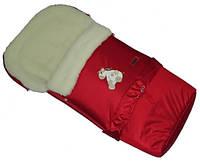 Многофункциональный детский конверт Multi Arctic на овчине  № 20 excluzive темно-красный WOMAR