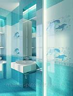 Плитка облицовочная  для ванных комнат  Аквариум