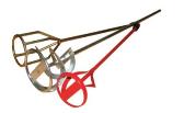 Миксер для штукатурных работ БРИГАДИР, 600 мм, 100 мм (64266002)