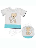 """Детская футболка (фуфайка) """"Котик"""""""