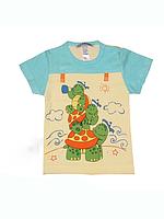 """Детская футболка (фуфайка) """"Черепашки"""""""