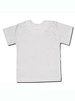 Детская футболка (фуфайка) белая