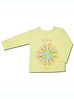 """Детская футболка (фуфайка) с длинным рукавом """"Хоровод"""""""