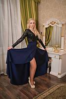 Платье с запахом и бантиком