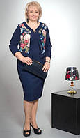 Платье-костюм женский 52-58 V130