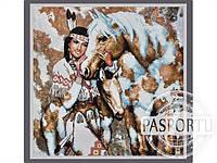 Набор для вышивки картины Покахонтас 73х72см