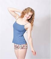 Пижама женская летняя майка и шорты WIKTORIA