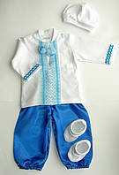 Одежда для крестин| крестильная вышитая рубашка для мальчика