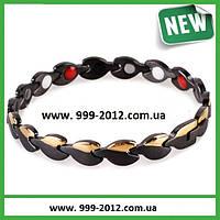 Магнитные браслеты PentActiv (8212) black and gold - украшения для здоровья