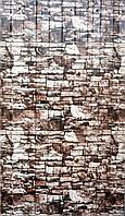 Профнастил для забора цвет: камень темный 1,5мХ1,17м , покрытие PRINTECH