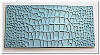 Кожа рептилий №2 штамп для мастики
