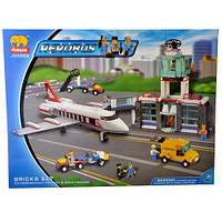 Детский конструктор Аэропорт Jubilux J 5668 A, 791 деталь