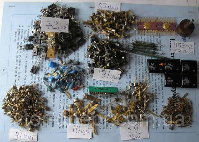 Транзисторы и микросхемы в