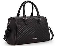 Стильная женская сумка Манго Тач Черная
