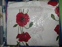 Постельное белье двуспальное Голд с маками