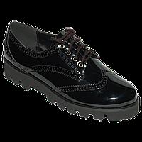 Демисезонные лакорованые туфли