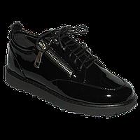Молодежные туфли с молниями