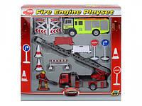 Игровой набор Пожарная служба с фигуркой человека, 12 см
