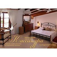Кровать 160/180 Кассандра, дерево/металл (Металл-Дизайн)
