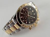Мужские часы Rolex Daytona, механические с автозаводом, нержавейка
