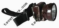 Шахтерский фонарь (коногонка) SX-005, светодиодный, аккумуляторный