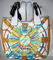 Женская белая сумка  Velina Fabbiano