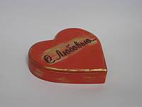 """Шкатулка из дерева """"с любовью"""", подарок на День святого Валентина"""