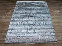 Акриловый рельефный ковер Bonita (Турция) восточный узор светло-бежевый