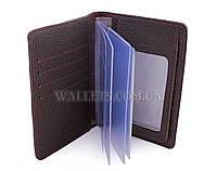 Документница для водительских прав ST, кожа, коричневая
